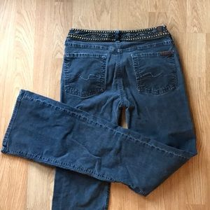 """7 For All Mankind Grey Cords """"Corduroys"""""""